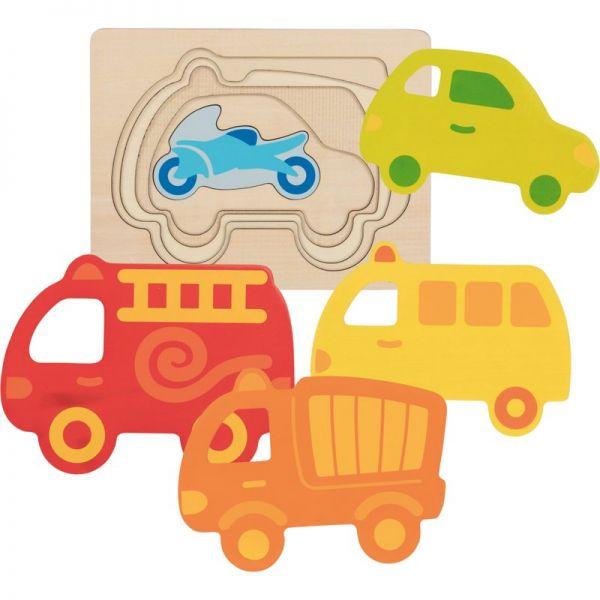 Fahrzeuge Lagenpuzzle