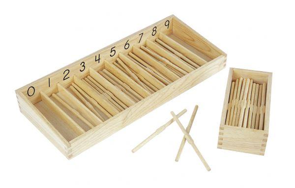 Montessori Stäbchenbox