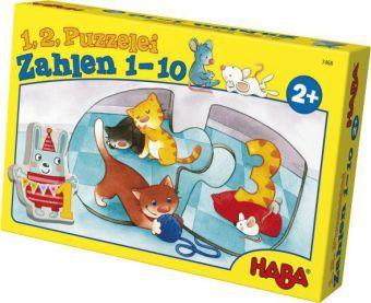 1, 2 Puzzelei – Zahlen 1 - 10