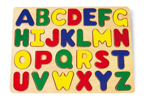 Einlegepuzzle ABC