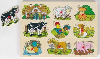 Geräuschepuzzle Bauernhof