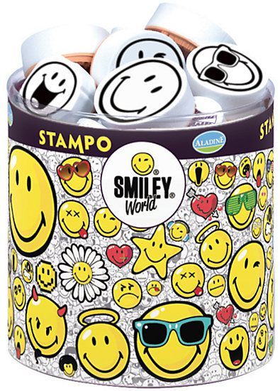 Stampo Smiley-Stempel-Set