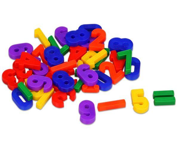 Magnetzahlen Riesenbox - 48 Zahlen und Operatoren