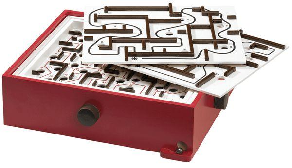 Labyrinth mit Übungsplatten
