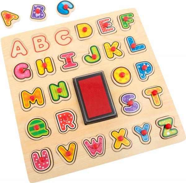Stempel-Puzzle ABC