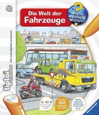 Daniela Betz: tiptoi® Die Welt der Fahrzeuge