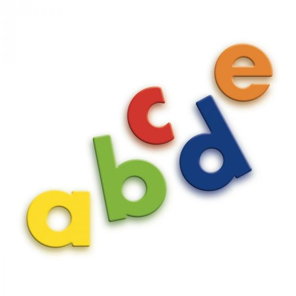 Magnetbuchstaben Riesenbox - 48 Kleinbuchstaben