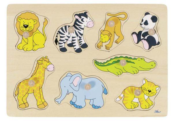 Steckpuzzle Zootiere