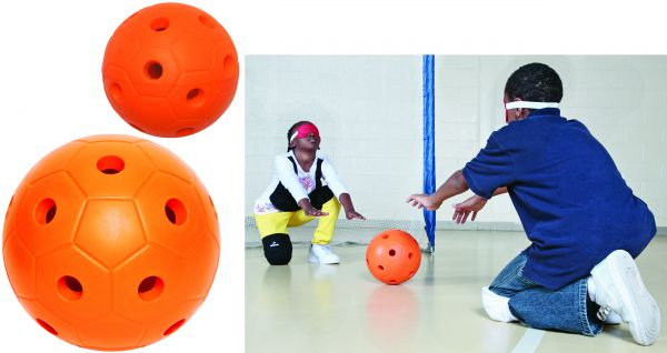 Großer Goalball Trainerball