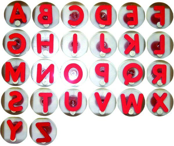 Alfix Großbuchstaben Riesenstempel