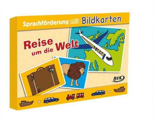 Reise um die Welt: Sprachförderung mit Bildkarten