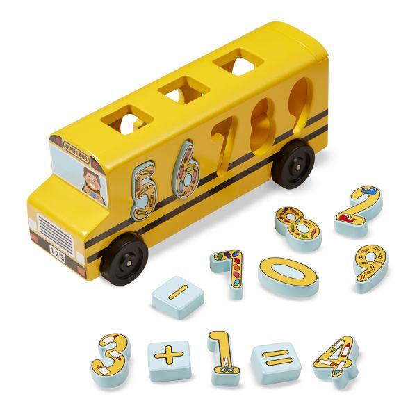 Großer Zahlen-Bus