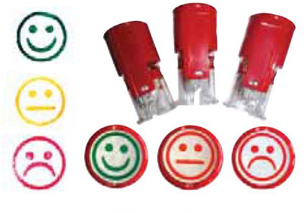 Stempelset Smiley mini