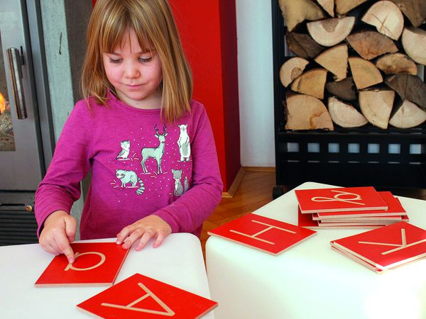 Riesenset Buchstabenplatten