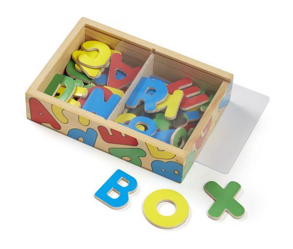 Magnetbuchstaben-Kiste