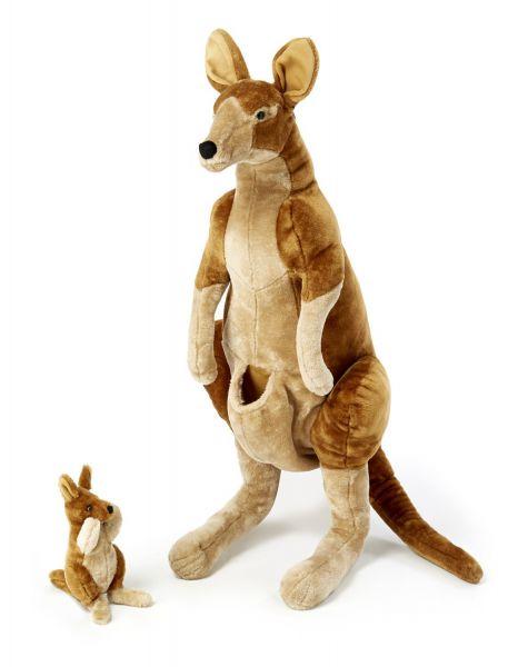 Känguru Mama und Kind