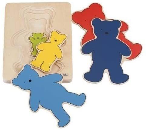 Farbenbär Schichtenpuzzle