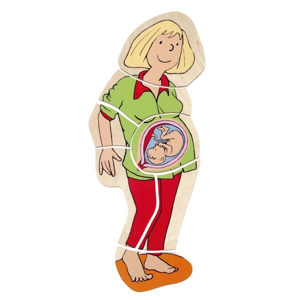 Mama bekommt ein Baby - Lagenpuzzle