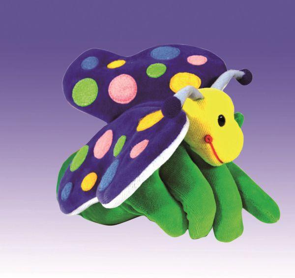 Handschuhpuppe Schmetterling