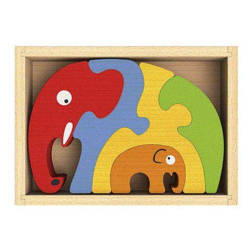 Großes Elefanten-Puzzle