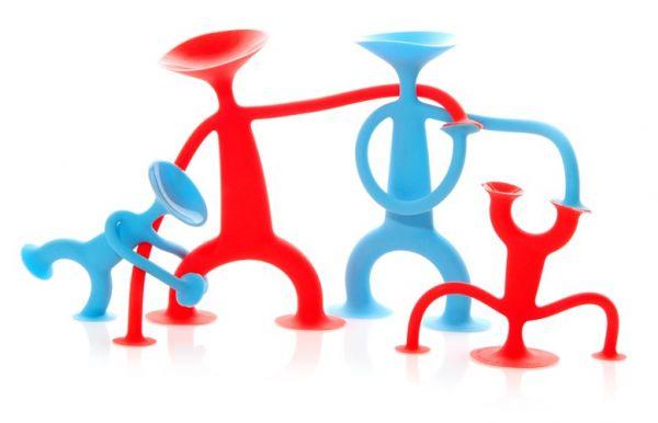 Oogi Familie - Elastische Spielfiguren