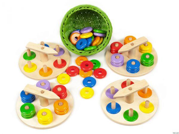 Zeiger Steckspiel-Set