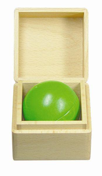 Klingspring klingende Kugelbox - grün