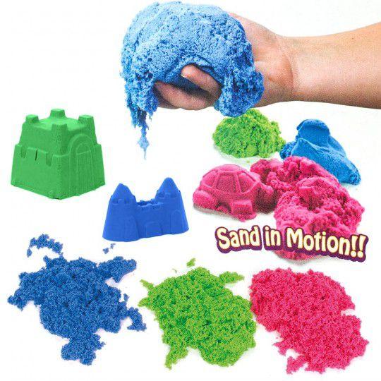 Kinetic Sand farbig 3 kg