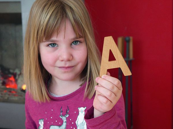 Holzbuchstaben Megaset